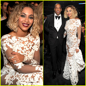 beyonce-wears-sexy-sheer-white-dress-at-grammys-2014
